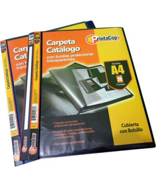 CARPETA CATALOGO 20 FUNDAS...