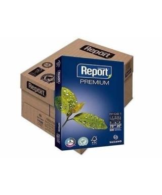 Bulto de 10 resmas Papel fotocopiadora tamaño carta REPORT