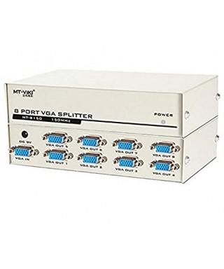 "SPLITTER VGA 8 PUERTOS ""MT-VIKI"" Mod. MT-8150"