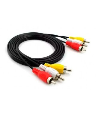 CABLE 3 RCA MACHO - 3 RCA...