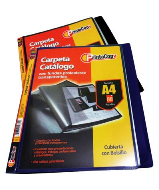 CARPETA CATALOGO 80 FUNDAS...