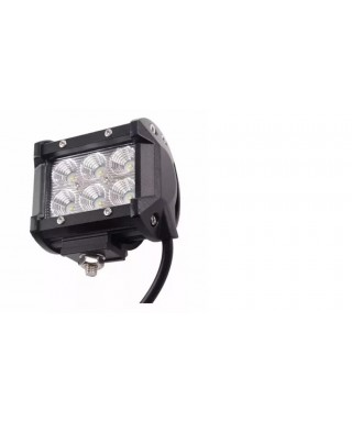 LAMPARAS 6 LED (WHITE-BLUE-RED) 3M-RBF POLICE