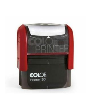 Sello personalizado COLOP C30 color ROJO