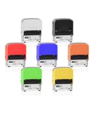 Sello personalizado COLOP C30 color KIWI