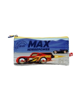 CARTUCHERA PLANA CARS MAX CAPI