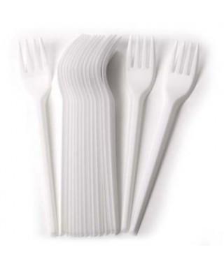 Tenedores Plasticos Paq x 12 Und