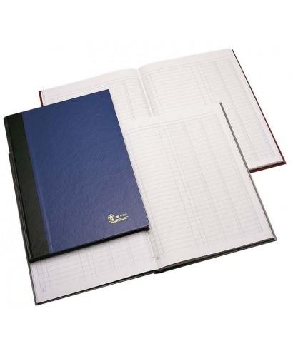 Libro de Contabilidad, 3 columnas, 200 folios. Marca Líder